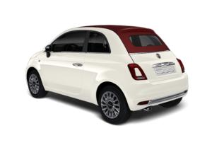 Fiat 500 - VIT GHIACCIO modellsida