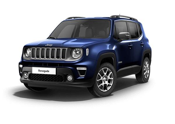 Jeep Renegade Limited Jetset Blue Metallic