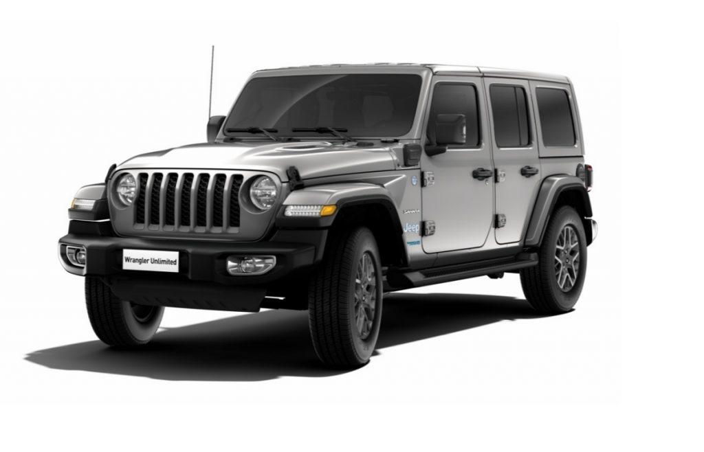 Jeep Wrangler Phev Sahara - Billet Silver