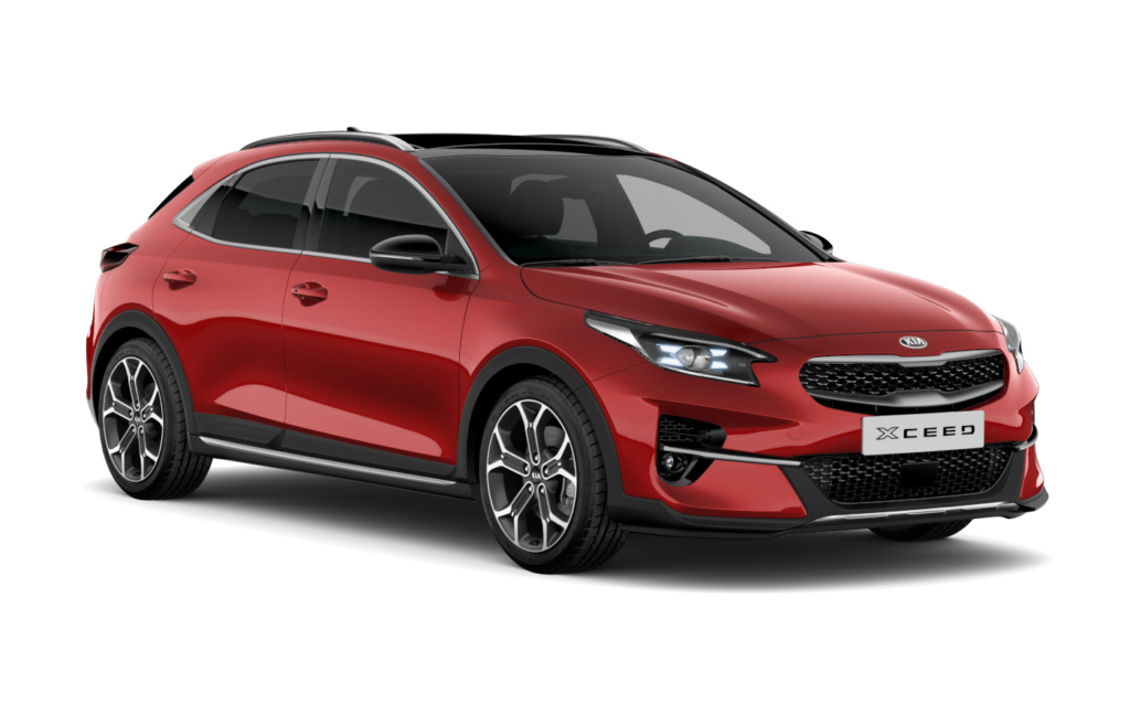 Kia XCeed Infra Red - Modellsida