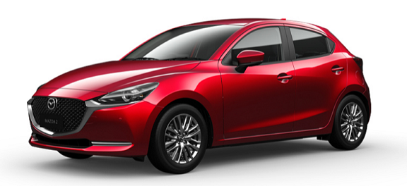 Mazda 2 Sky Soul Red Crystal Metallic -650