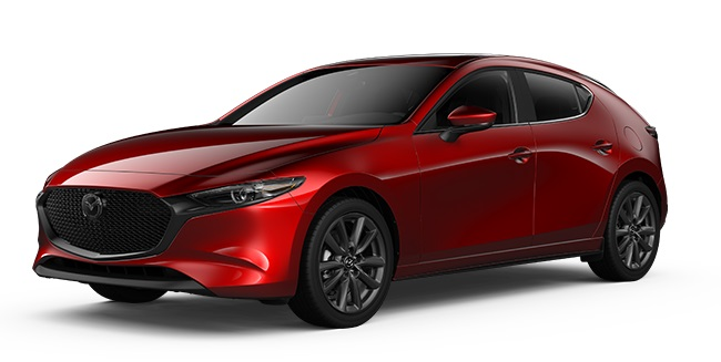 Mazda 3 Cosmo Soul Red Crystal Metallic - hemsida