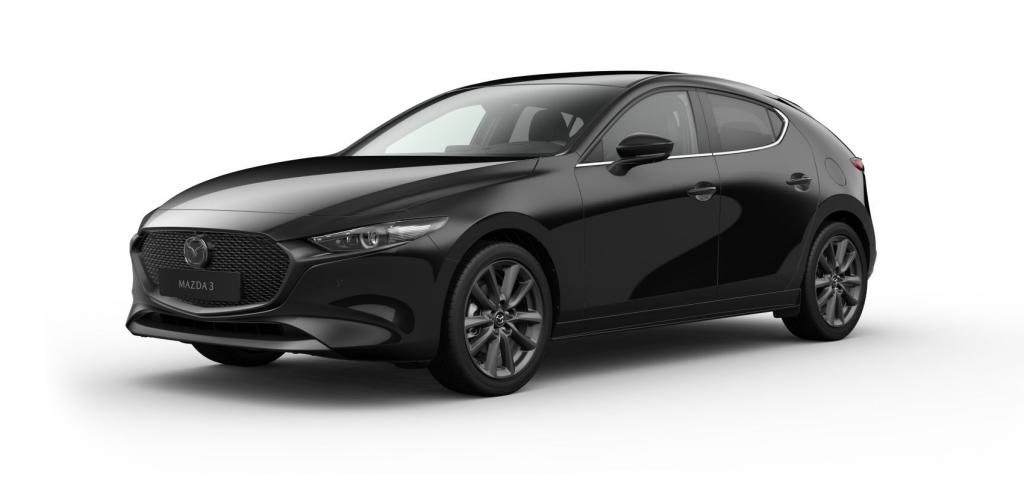 Mazda 3 Skytech + Cosmo Jet Black