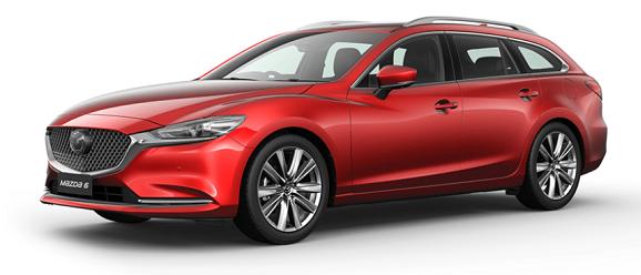 Mazda 6 Soul red Crystal