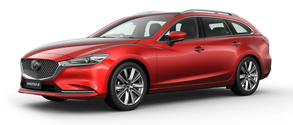 Mazda 6 Soul red Crystal