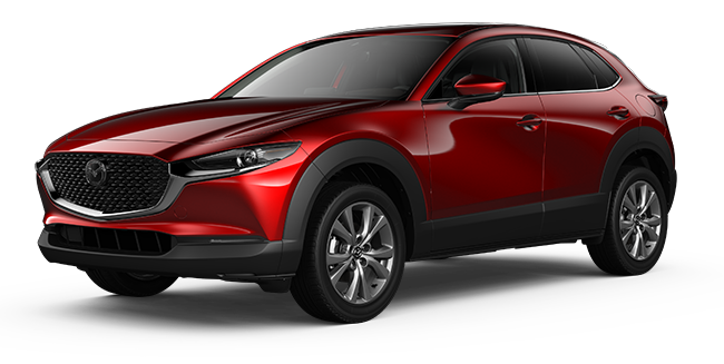 Mazda CX-30 Sky Soul Red Crystal Metallic