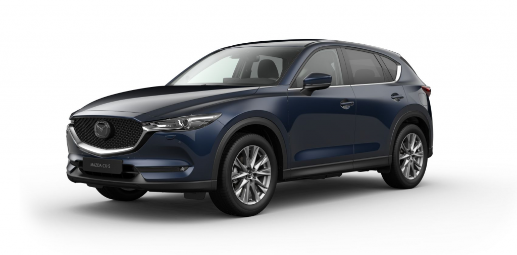 Mazda CX-5 FL Optimum Deep Crystal Blue