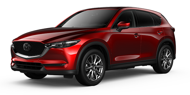 Mazda CX-5 Optimum Soul Red Crystal Metallic