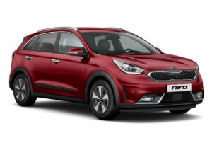 Niro Plug-in Hybrid Temptation Red - Hemsida