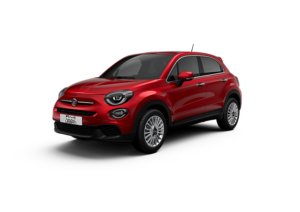 Nya Fiat 500X Amore Red