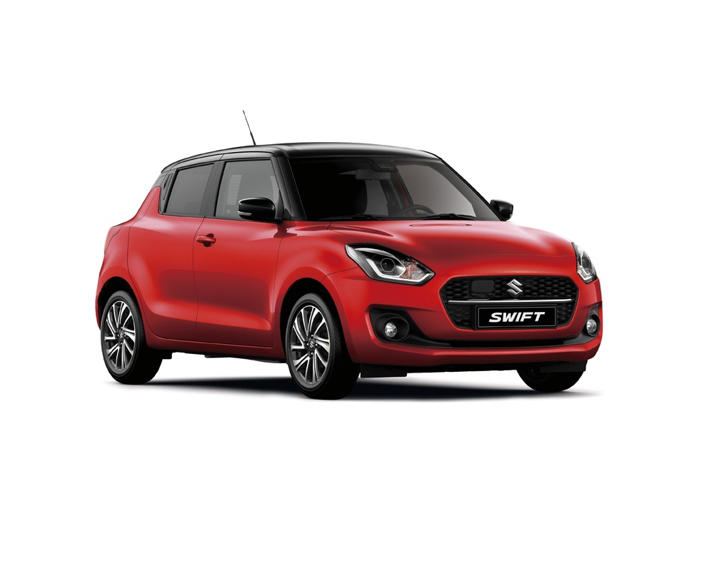 Nya Suzuki Swift Fervent Red