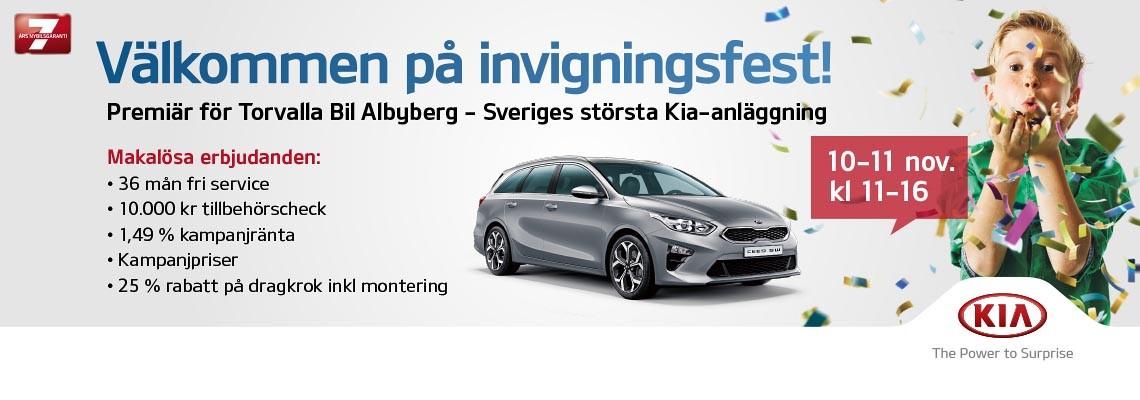 Invigningsfest Kia Albyberg