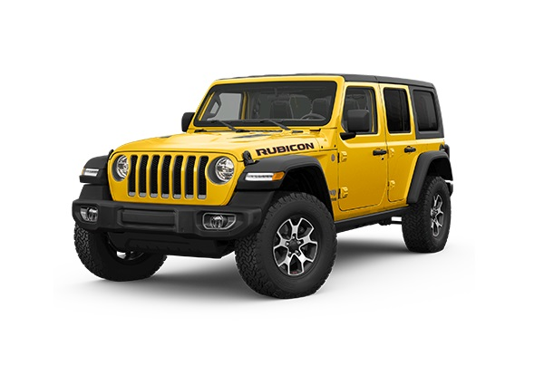 Nya Wrangler Unlimited Rubicon 2.0T