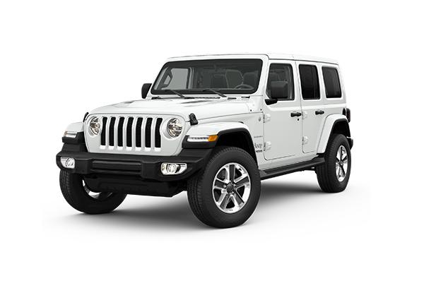 Nya Jeep Wrangler Unlimited Sahara 2.2D
