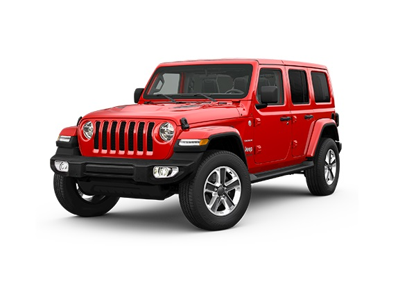 Nya Jeep Wrangler Unlimited Sahara 2.2D